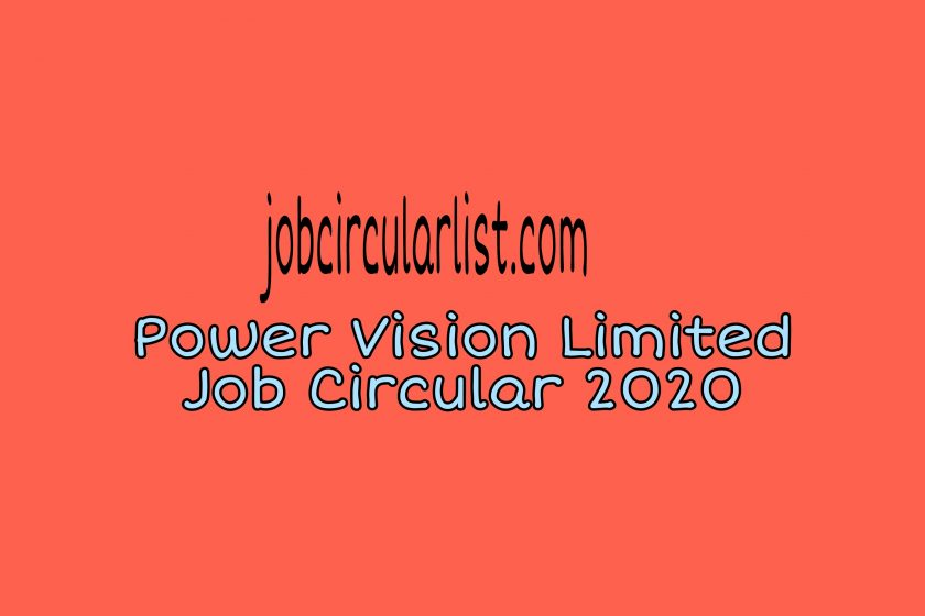 Power Vision Limited Circular 2020