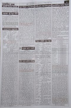 Chakrir dak weekly jobs newspaper 15 January